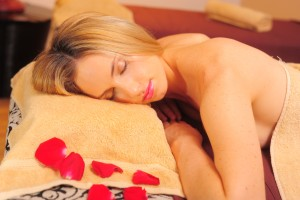 Ancient Shiatsu Body Massage in professional spa