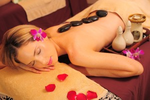 Hot Stones Body Massage at AFOND Spa