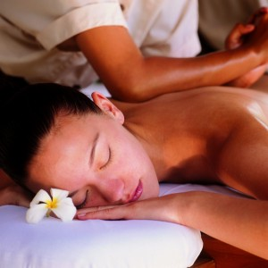 Sensual Floral Body Massage at AFOND Spa