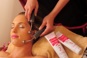Facial Spa beauty treatment